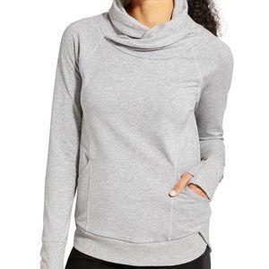 Athleta Track Pullover Sweatshirt